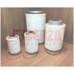 filtros separadores aire / aceite para atlas copco Derza