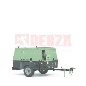 Compresor de aire portátil Sullair 375 Derza