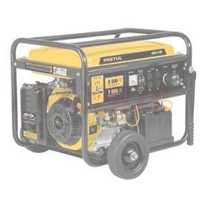 Generador Eléctrico A Gasolina, 7,000 W, Pretul 16hp Derza
