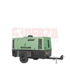 The Sullair 600HH Portable Air Compressor Derza