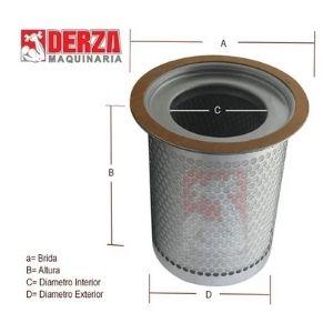 filtro separador aire / aceite kaeser aftermarket 6.3524.1 derza