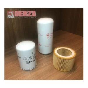 kit de filtros y aceite p/ compresor ingersoll rand up6 7.5 Derza