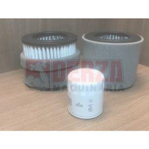 kit servicio quincy qr5120 aftermarket filtros aire y aceite Derza